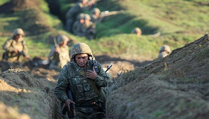 Nahçıvan yönünde de ateşkes ihlal eden Ermenistan'a ait bir askeri araç imha edildi