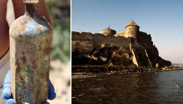 Naməlum maye: Odessa yaxınlığında Osmanlılara aid  butılka tapıldı