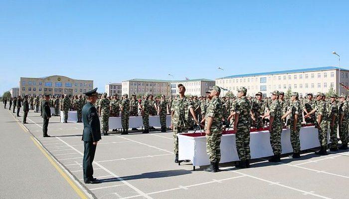 Naxçıvan Qarnizonu Qoşunlarında hərbi andiçmə mərasimləri keçirildi