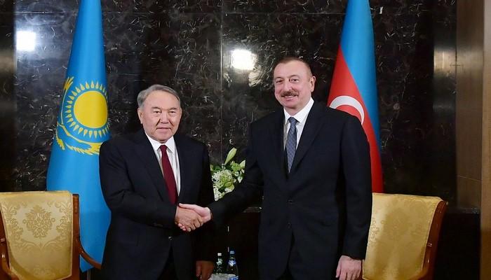 """Nazarbayev Əliyevə məktub yazdı: """"2020-ci il Sizin üçün Zəfər ili oldu"""""""