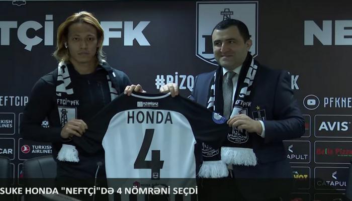 """""""Neftçi"""" Honda ilə müqavilə imzaladı - RƏSMİ"""
