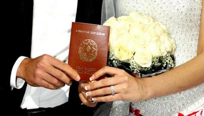 С начала 2020 г. в Азербайджане заключено 20 837 браков