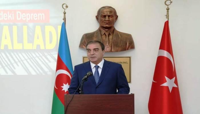 Niyazi Bayramov Türkiyənin Gəncədəki Baş Konsuluna başsağlığı verib