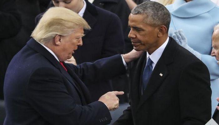 """Obama Trampı tənqid etdi: """"Hüquqlarımıza hücum edirlər"""""""