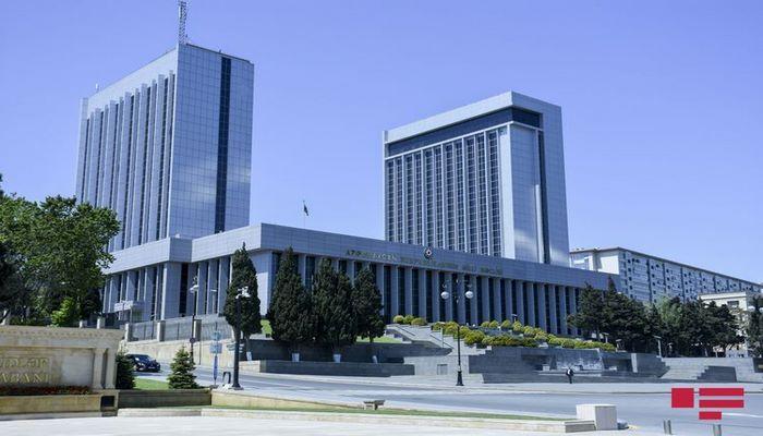 Очередное заседание внеочередной сессии Милли Меджлиса состоится 5 августа