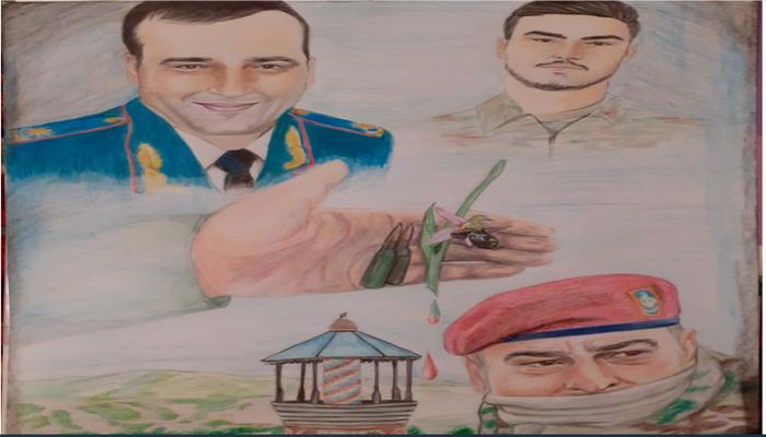 Определены победители конкурса рисунков «Отечественная война глазами студентов БГУ»