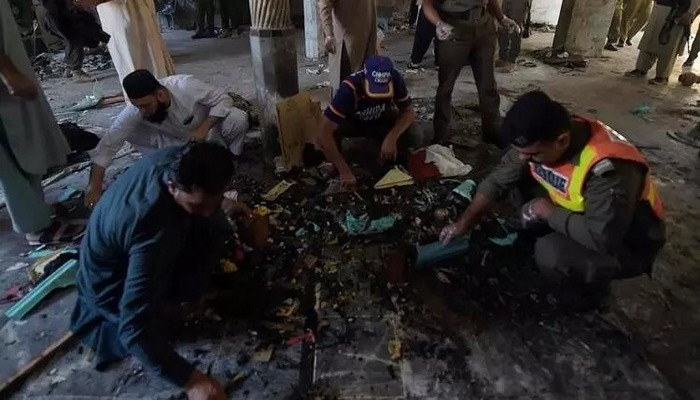 Pakistan'da medresede patlama: 7 ölü  Kaynak:Pakistan'da medresede patlama: 7 ölü