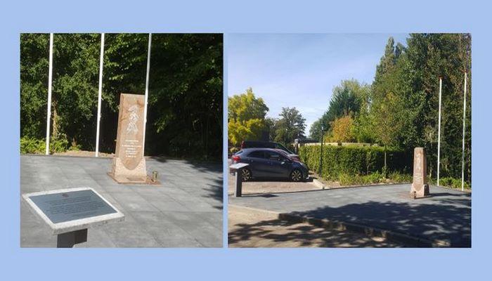 Памятник жертвам Ходжалы в Гааге перенесен