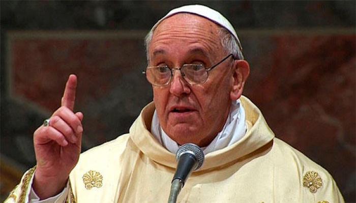 Papa Şərqi Aralıqdakı gərginliklə bağlı çağırış etdi