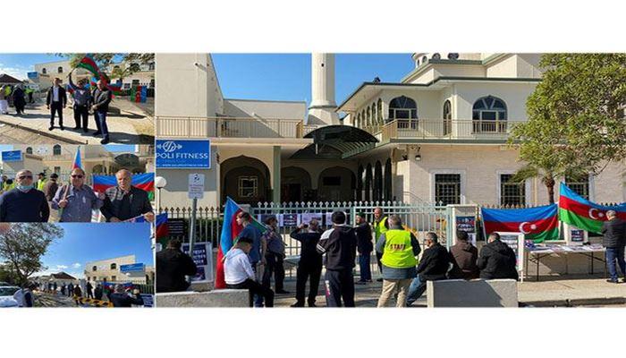 Перед мечетью в Сиднее прошла акция протеста против военных провокаций  Армении