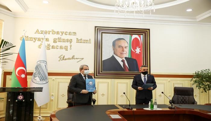 Подписано соглашение между БГУ и Коллегией адвокатов Азербайджана
