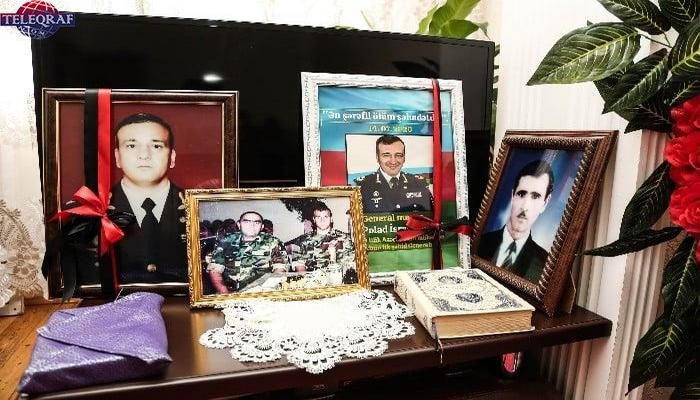 Poladın 7-ci günü... - Şəhid generalın nadir fotoları