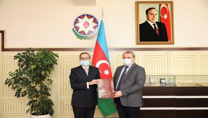 Посол Пакистана посетил БГУ