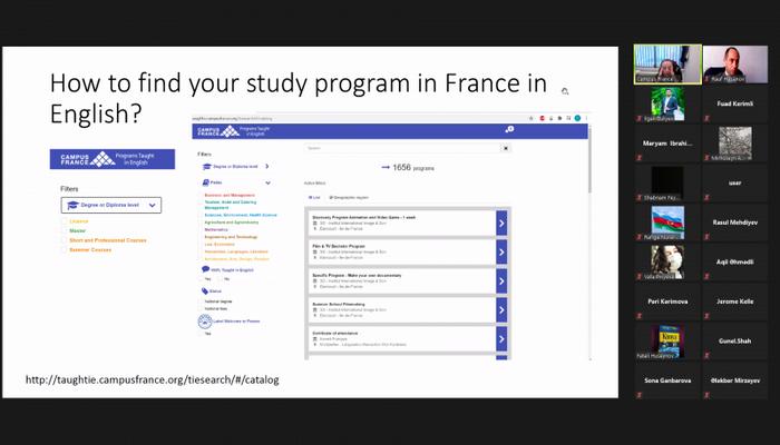 Посольство Франции провело семинар для студентов БГУ