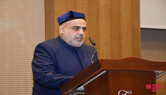 Председатель УМК внес ясность в вопрос фетвы в связи с праздником Гурбан байрамы