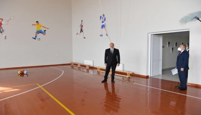 Президент Ильхам Алиев: В этом году в Сумгайыте  начнет функционировать завод по производству стекла