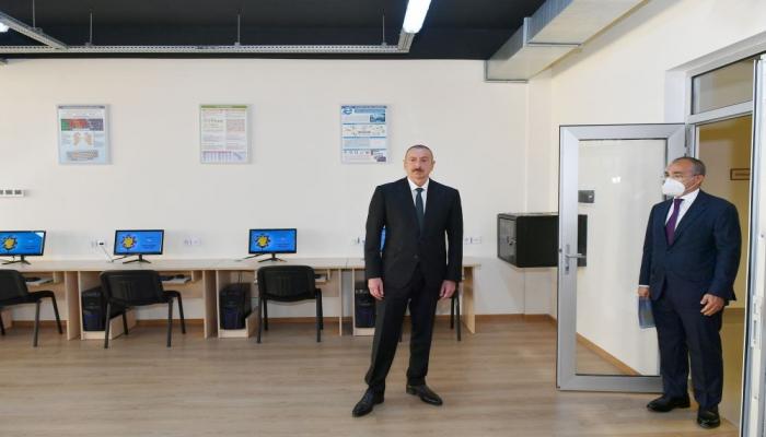 Президент Ильхам Алиев: Естественно, наши нефтяные месторождения когда-то иссякнут