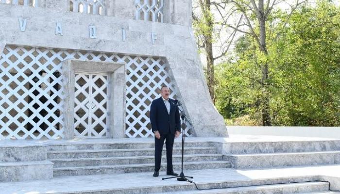 Şuşa Qarabağın tacıdır - Prezident