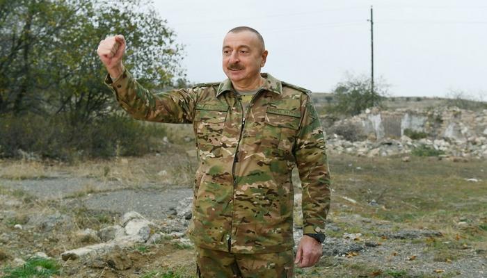 """Prezident: """"Azərbaycan öz istədiyinə nail oldu, tarixi ədaləti bərpa etdi, beynəlxalq hüququ bərpa etdi"""""""