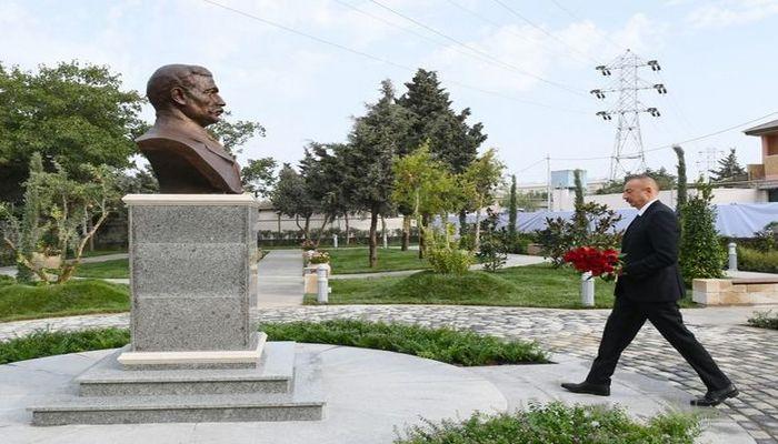 Prezident Bakıda parkın açılışında iştirak etdi