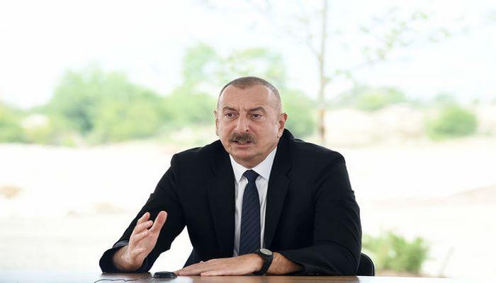 """Prezident: """"Bizim müharibəmiz faşist Ermənistan dövlətinə qarşı deyildi, müharibəmiz faşizm əleyhinə idi"""""""
