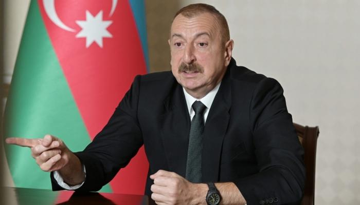 """Prezident: """"Deyirdim ki, heç vaxt Azərbaycan xalqı bu vəziyyətlə barışmayacaq"""""""