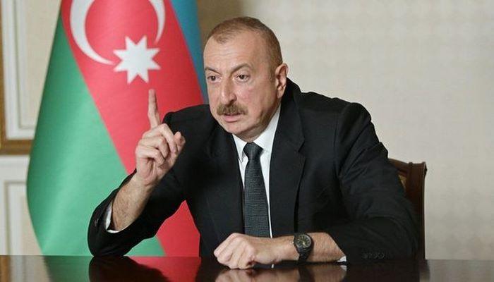"""Prezident: """"Ermənilər bizim məscidlərimizdə inək, donuz saxlayır"""""""