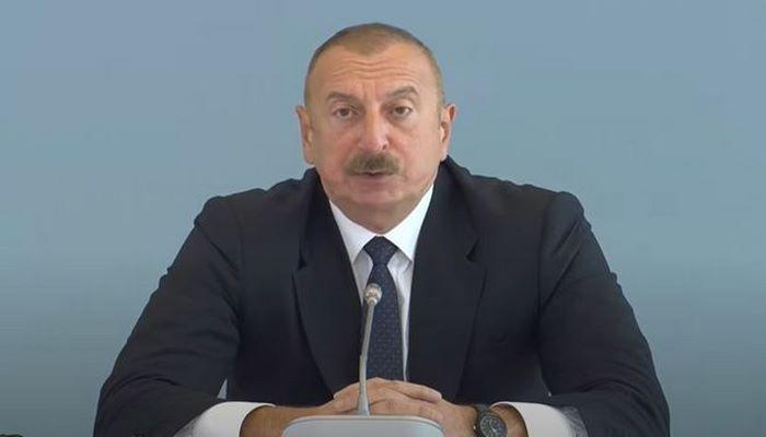 Prezident İlham Əliyev ADA Universitetində təşkil olunan konfransda çıxış edir - CANLI YAYIM
