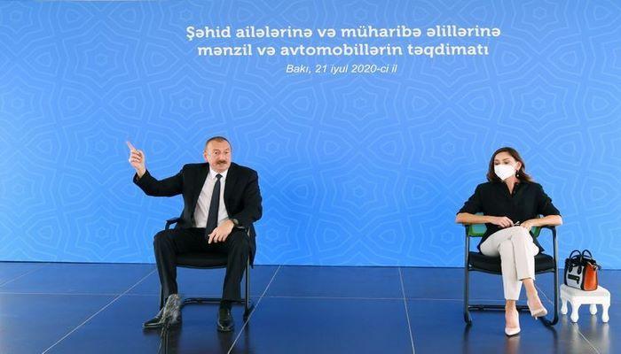 """Prezident İlham Əliyev: """"Müsəlman məscidlərini dağıdan Ermənistanla hansı əlaqələr ola bilər?"""""""
