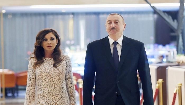 Prezident İlham Əliyev və birinci xanım Zəngilan ictimaiyyətinin nümayəndələri ilə görüşüblər