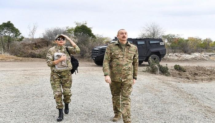 Prezident İlham Əliyev və Mehriban Əliyeva Füzuli, Zəngilan, Laçın və Cəbrayılda olublar