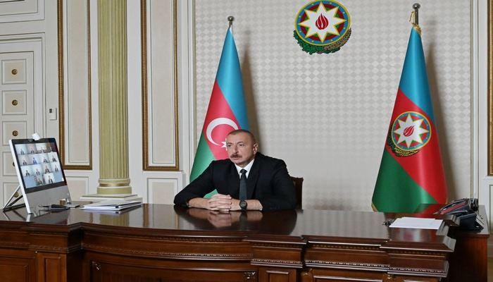 Президент Ильхам Алиев: Если потери будут устранены, то у нас достаточно водных источников и водных ресурсов