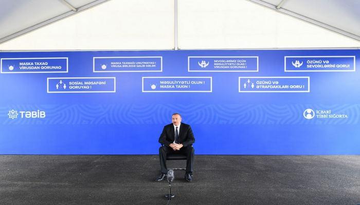 Президент Ильхам Алиев: Мы уже создали устойчивую экономику, граждане Азербайджана не ощутили даже падения цен на нефть