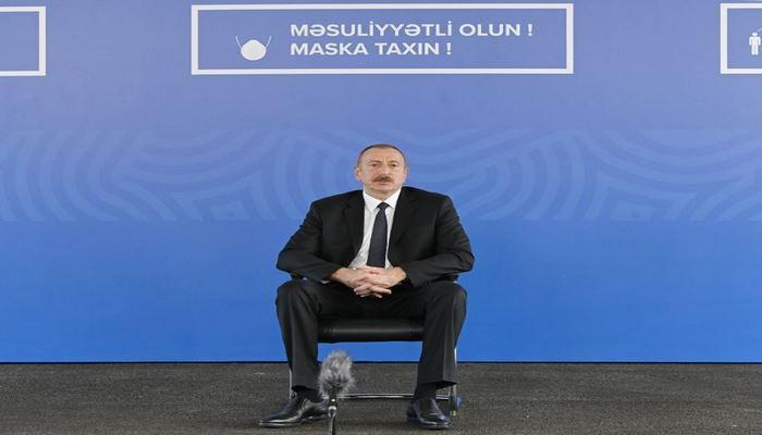 Президент Ильхам Алиев: Ни один социальный проект не сокращается и не будет сокращен