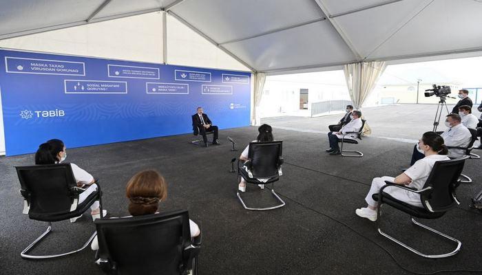 Президент Ильхам Алиев:  По количеству тестов на душу населения мы занимаем одно из передовых мест в мире