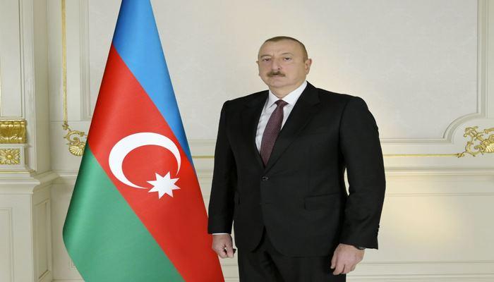 Президент Ильхам Алиев поделился публикацией на официальной странице в Facebook в связи с праздником Гурбан