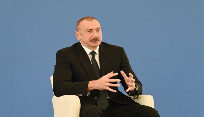 Президент Ильхам Алиев: Строительство электростанции «Гобу» - очень важный шаг в укреплении нашего энергетического потенциала