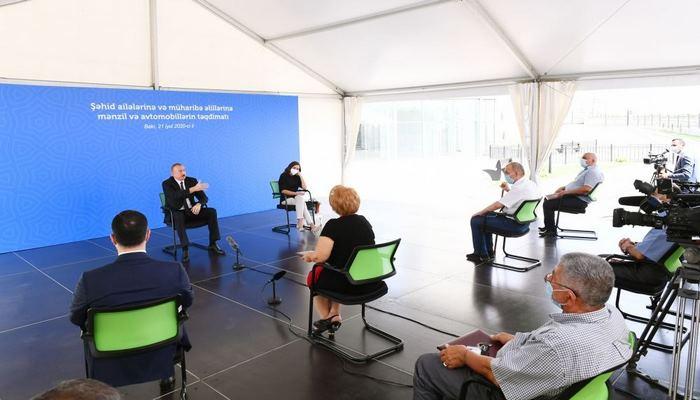 Президент Ильхам Алиев: В эти дни мы ощутили мощную международную поддержку, которой никогда не было