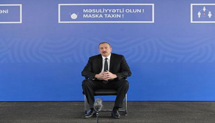 Президент Ильхам Алиев: В настоящее время первостепенным вопросом для нас являются здоровье людей, их жизнь