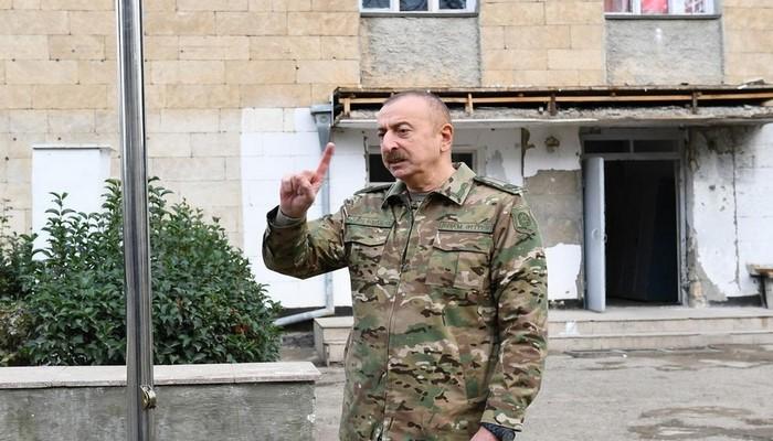 """Prezident: """"Keçmiş Hadrut rayonu işğalçılardan tam azad edilib"""""""