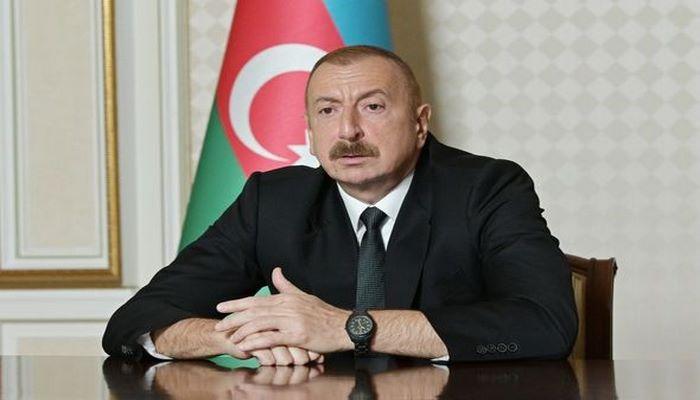 """Prezident: """"Müdafiə Nazirliyinə real vəziyyətlə bağlı zəruri tapşırıqlar verilib"""""""