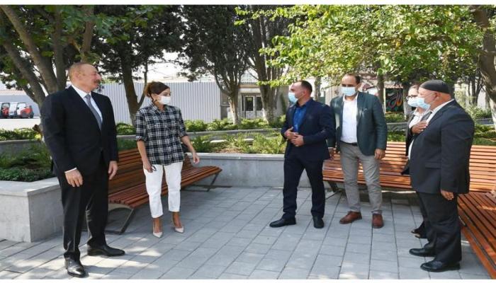 Президент Ильхам Алиев: Проводимые в каждом поселке работы по благоустройству необходимо обсудить и с местными жителями