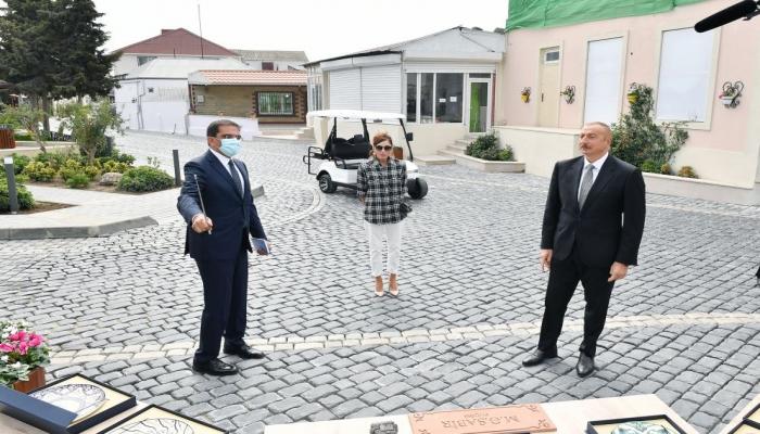 Президент Ильхам Алиев: Балаханы и Бибиэйбат – самые древние нефтяные центры в мире