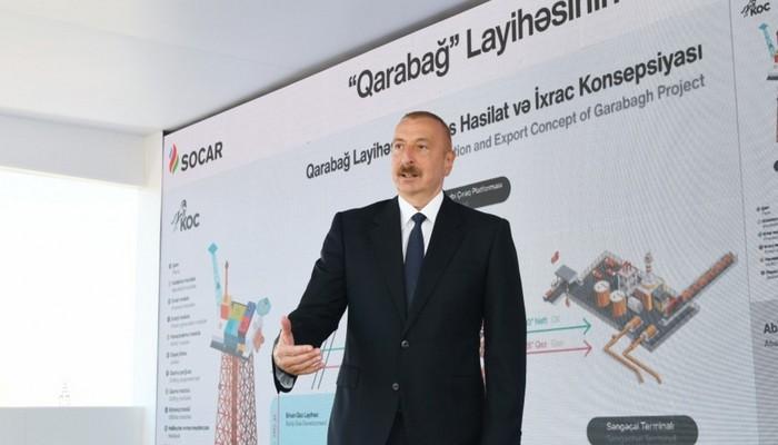 """Prezidentin """"Qarabağ"""" yatağı ilə bağlı fikirləri İtaliya mətbuatında"""