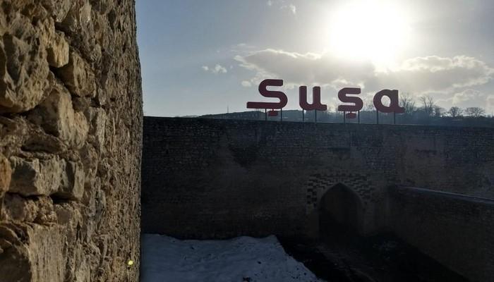 Prezidentin tapşırığına əsasən Şuşa şəhərində bərpa və yenidənqurma tədbirləri davam etdirilir