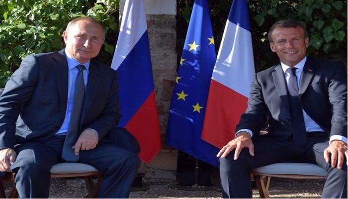 Путин и Макрон обсудили Ливан и Беларусь