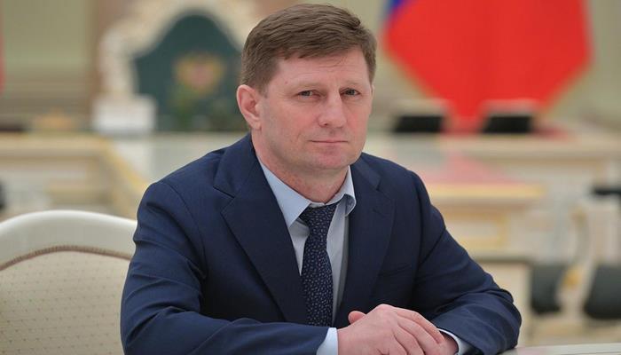 Путин отправил в отставку губернатора Хабаровского края Фургала