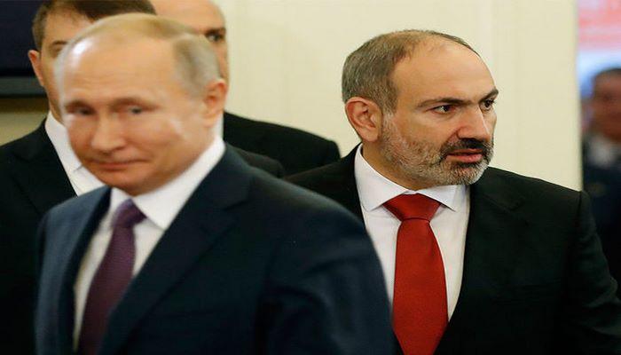 Putin Paşinyanla Azərbaycan-Ermənistan sərhədindəki vəziyyəti müzakirə etdi