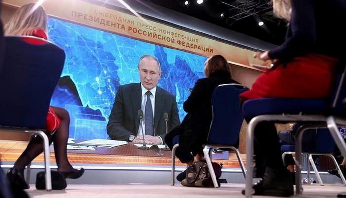 """Putin Qarabağda atəşkəsin pozulmasından danışdı: """"Ümid edirəm ki, bu, bir də təkrar olunmayacaq"""""""