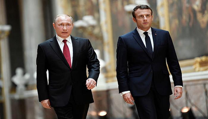 Putin və Makron Dağlıq Qarabağdakı vəziyyəti müzakirə etdilər